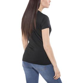 super.natural Essential I.D. - Camiseta manga corta Mujer - negro